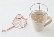 手編みコーヒードリッパー 銅 (小 1〜2杯用)