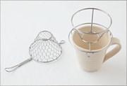 手編みコーヒードリッパー ステンレス (小 1〜2杯用)