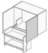 ウォールキャビネットを選ぶ 昇降式吊り戸棚