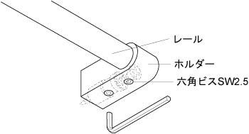 LINERO 取付け方法レール・ブラケット
