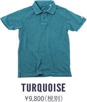67LW UESポロシャツ ターコイズ
