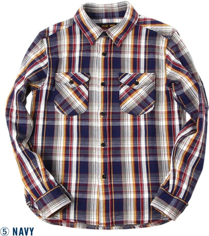 501951 HEAVY FLANNEL SHIRT