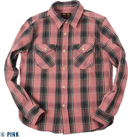 501952 HEAVY FLANNEL SHIRT