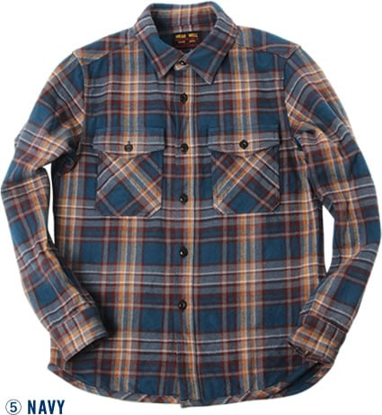 501954 EXTRA HEAVY FLANNEL SHIRT