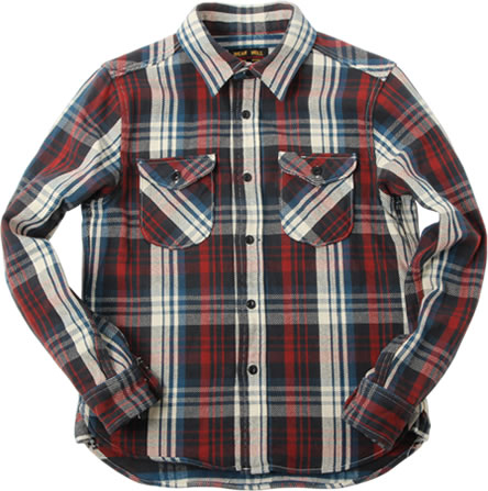 501955 HEAVY FLANNEL SHIRT