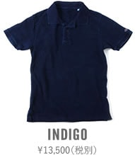 67LW UESポロシャツ インディゴ