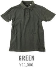 67LW UES POLO SHIRT GREEN