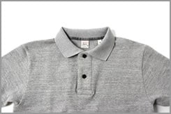 67LW UES POLO SHIRT GRAY