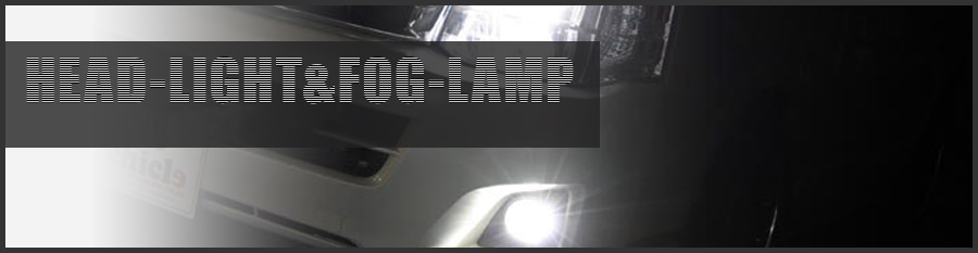 HEADLIGHT & FOG LAMP