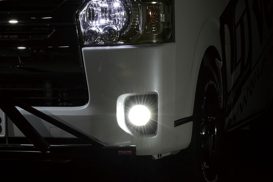 ユーアイビークル/UIvehicle ハイエース/HIACE 切替式LEDフォグランプバルブPSX26