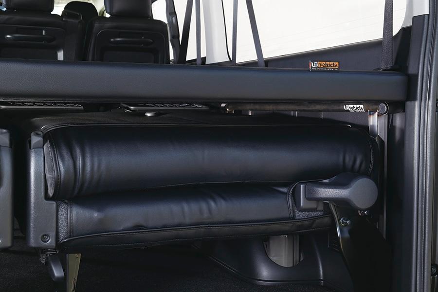 ユーアイビークル/UIvehicle ハイエース マルチウェイ ワゴン ベッドキット