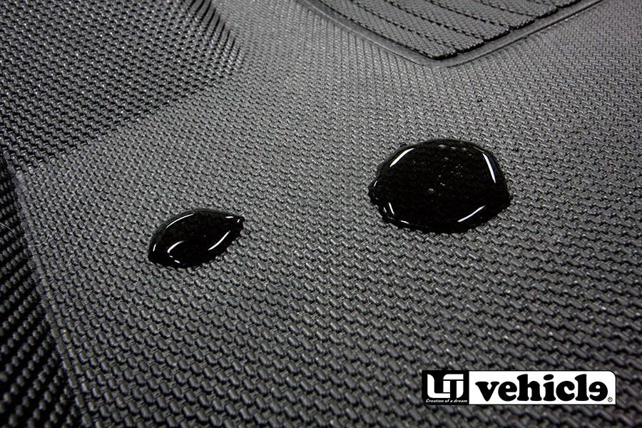 3D Rubber floor Mat for HIACE