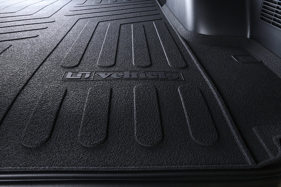 ユーアイビークル/UIvehicle ハイエース/HIACE 3Dラバーカーゴマット