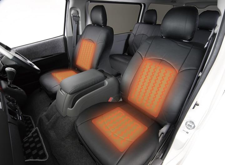 ユーアイビークル/UIvehicle ハイエース/HIACE コンプリートカー:快適車中泊パッケージ シートヒーター