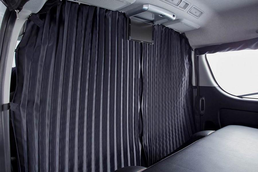 ユーアイビークル/UIvehicle ハイエース/HIACE 遮光カーテン