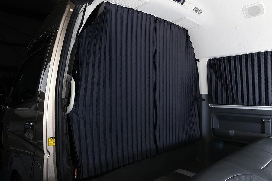ユーアイビークル/UIvehicle ハイエース/HIACE 遮光カーテン スーパーロングボディ