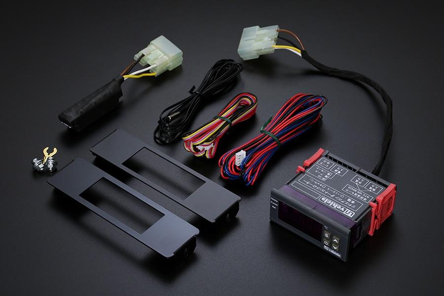 ユーアイビークル/UIvehicle ハイエース/HIACE リアクーラー&リアヒーター コントローラー バージョン2