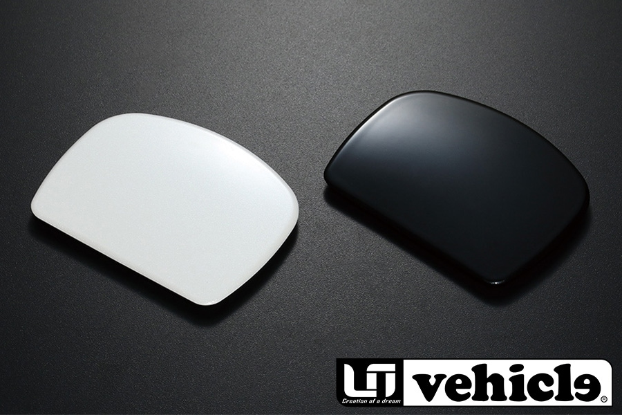 Rear gate mirror cover for HIACE