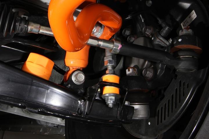 ユーアイビークル/UIvehicle ハイエース/HIACE アジャスタブルスタビライザーリンク 2WD