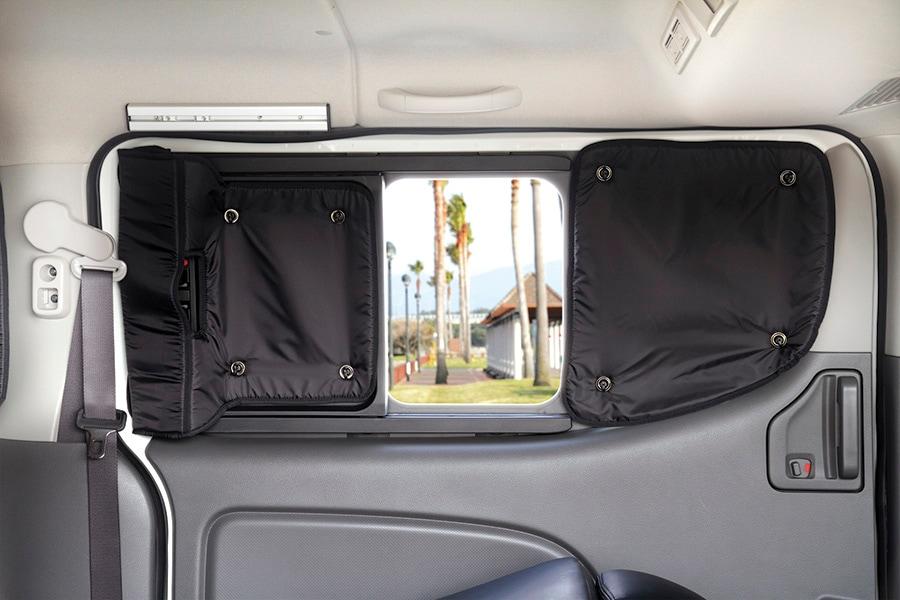 ユーアイビークル/UIvehicle NV350 キャラバン プレミアムGX用遮光パッド