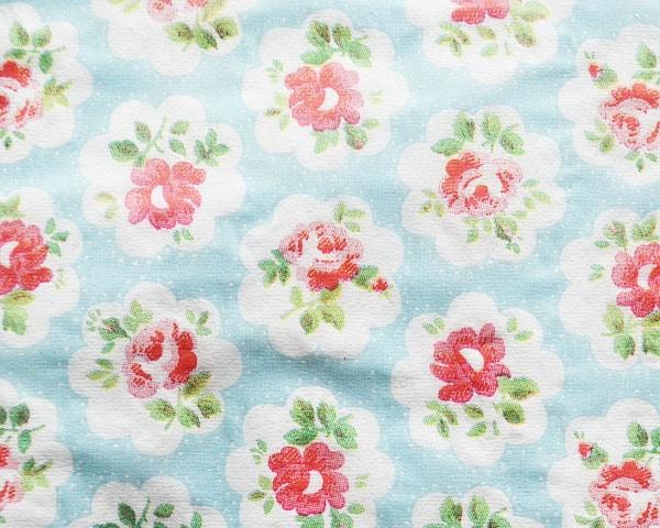 Cath Kidston ランチナプキン/Provence Rose blue