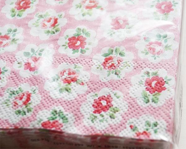 Cath Kidston ランチナプキン/Provence Rose rose