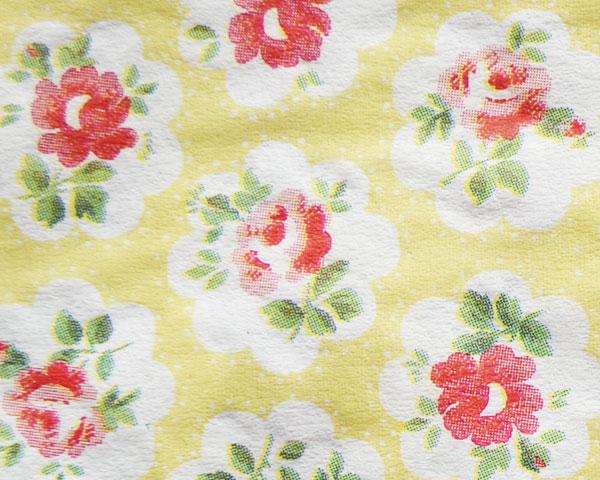 Cath Kidston ランチナプキン/Provence Rose yellow