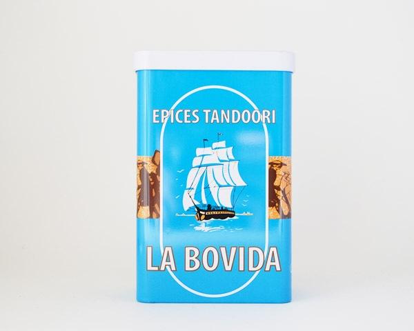 LA BOVIDA  青いスパイス缶
