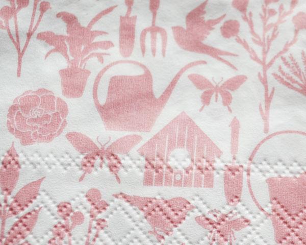 紙ナプキン/HobbY Gardener rose 20枚入