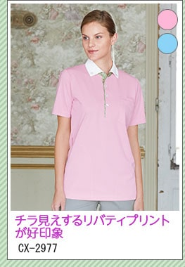 ニットシャツ [男女兼用] CX-2977
