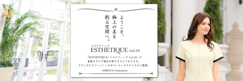 ESTHETIQUE/エステティック 2016-2017 Vol.18へ