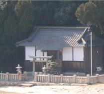 鴨の越の浦島神社