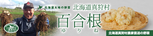 北海道真狩村産 有機百合根