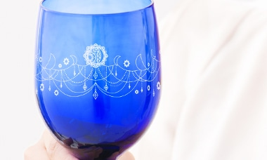 天然素材の上質なガラス製