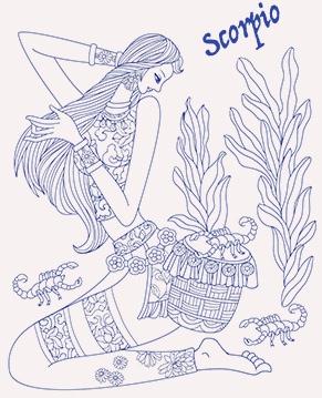 蠍座のイメージ画像