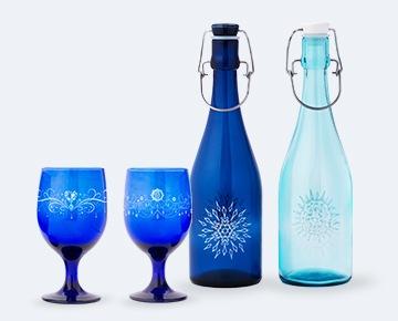 新月・満月の魔力で開運&浄化マジカルムーン・ボトル&グラス