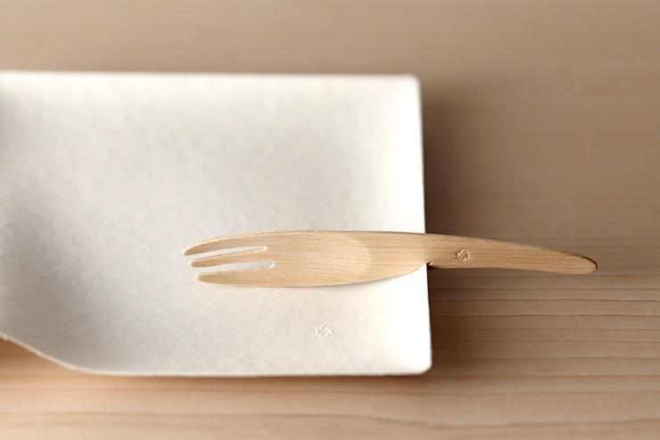 竹製フォーク