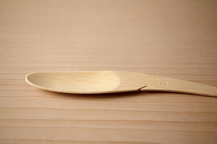 竹製スプーン