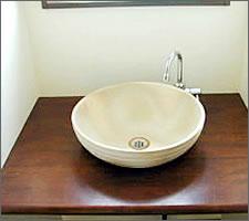 洗面ボウルの設置例5