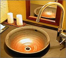 洗面ボウルの設置例17