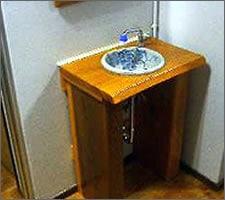 洗面ボウルの設置例20