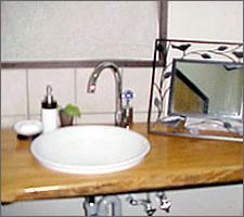 洗面ボウルの設置例6