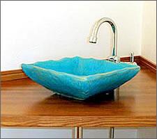 洗面ボウルの設置例24