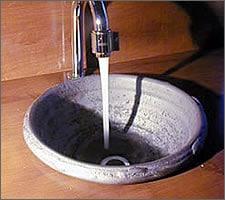 洗面ボウルの設置例29