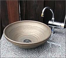 洗面ボウルの設置例36