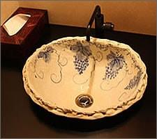 洗面ボウルの設置例40