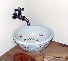 洗面ボウルの設置例43