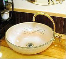 洗面ボウルの設置例8