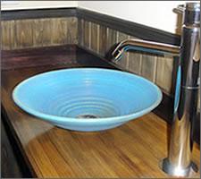 洗面ボウルの設置例45