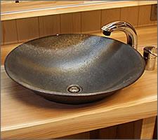 洗面ボウルの設置例46